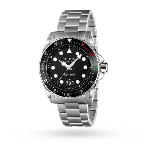 Gucci Dive 45mm Mens Watch YA136208