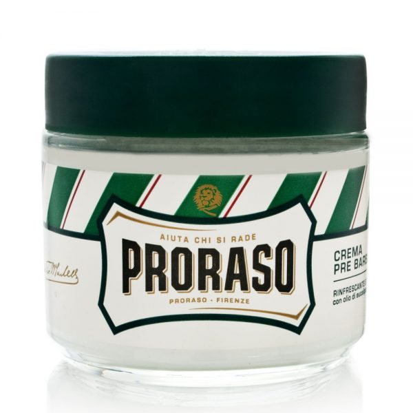 Proraso Pre-Shave Cream with Eucalyptus Oil and Menthol Refreshing and Toning Formula