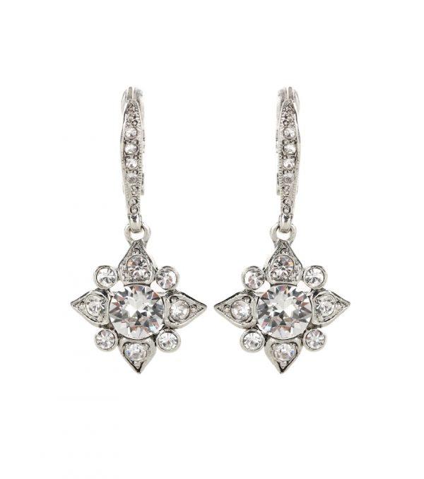 Crystal-embellished earrings