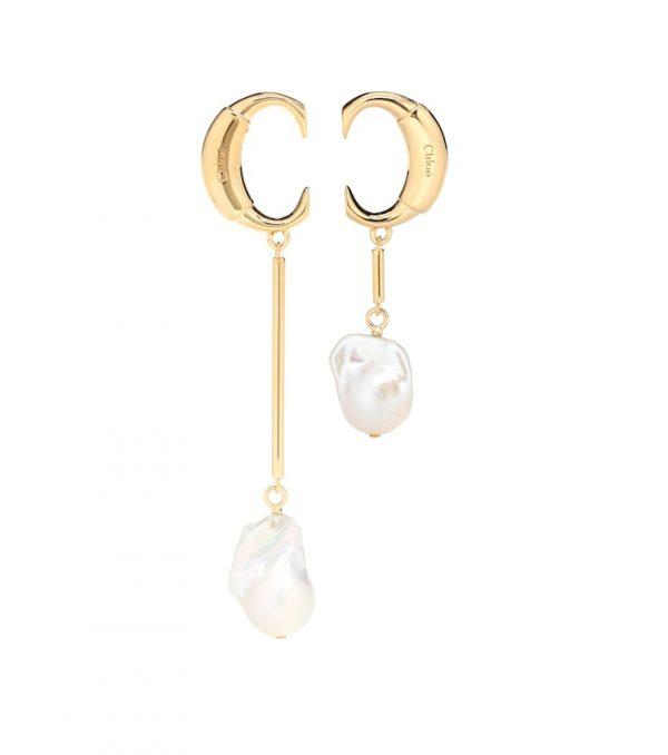 Darcey baroque pearl earrings