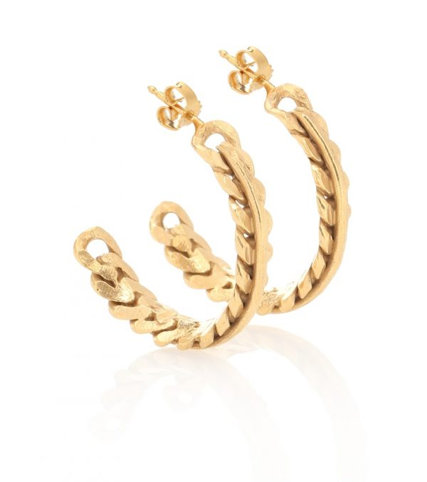 Exclusive to Mytheresa - Rita 24kt gold-plated earrings