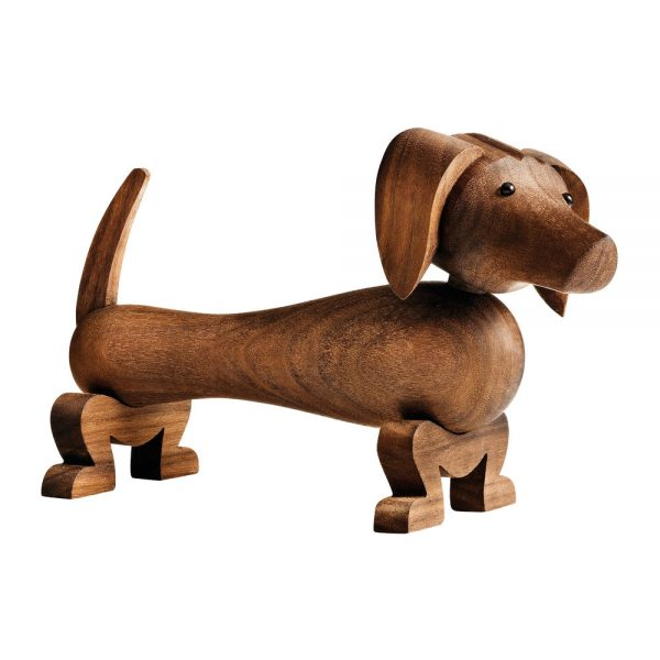Kay Bojesen - Dog Wooden Figurine - Walnut