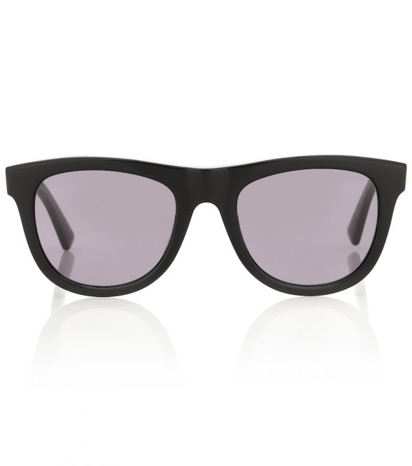 01 D-frame acetate sunglasses