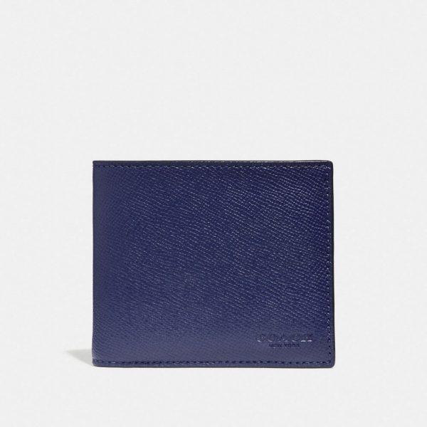 3-In-1 Wallet in Blue