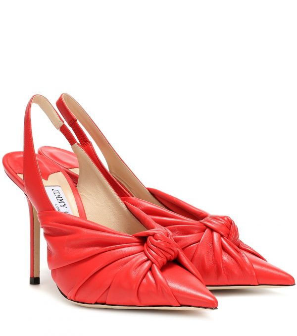 Annabell 100 leather pumps