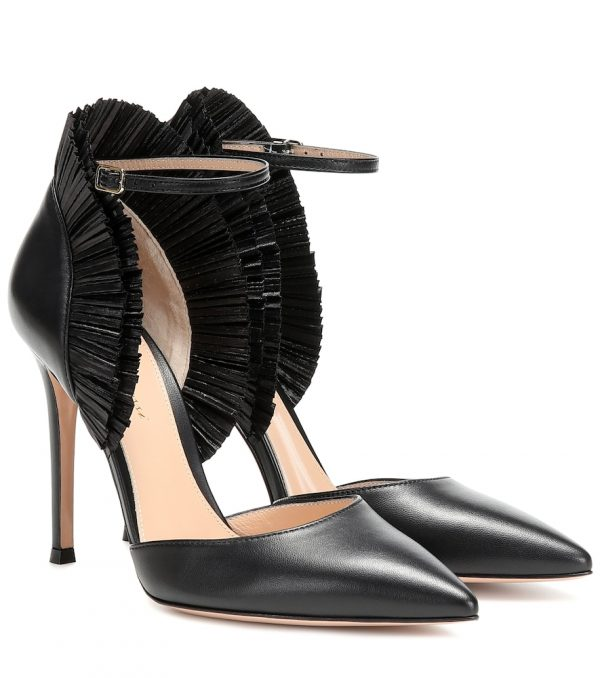 Annabelle leather pumps