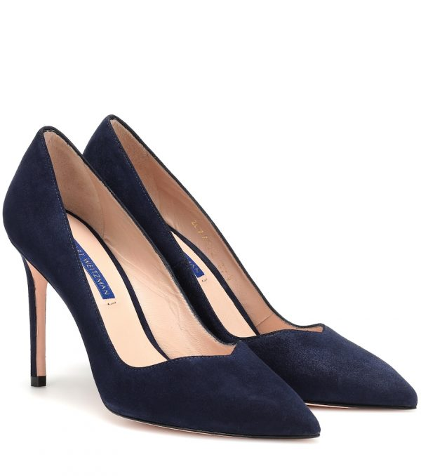 Anny 95 suede pumps
