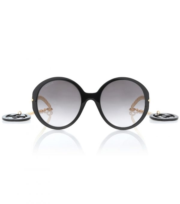 GG oversized round sunglasses
