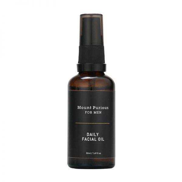 Mount Purious Mens Organic Daily Facial Oil 50ml