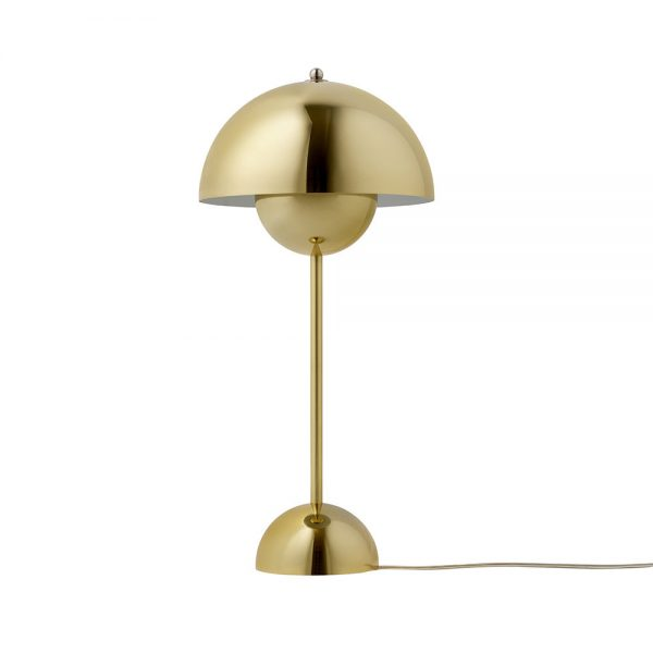 &Tradition - Flowerpot Table Lamp - Polished Brass