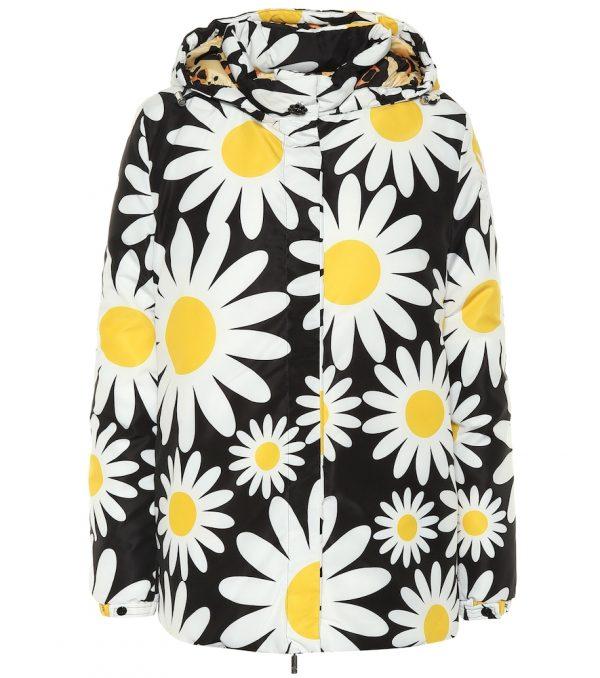 0 MONCLER RICHARD QUINN Connie floral puffer jacket