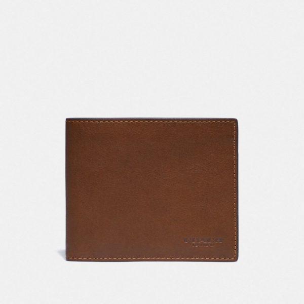 3-in-1 Wallet in Brown