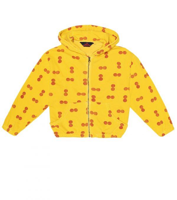 Albatross printed cotton hoodie