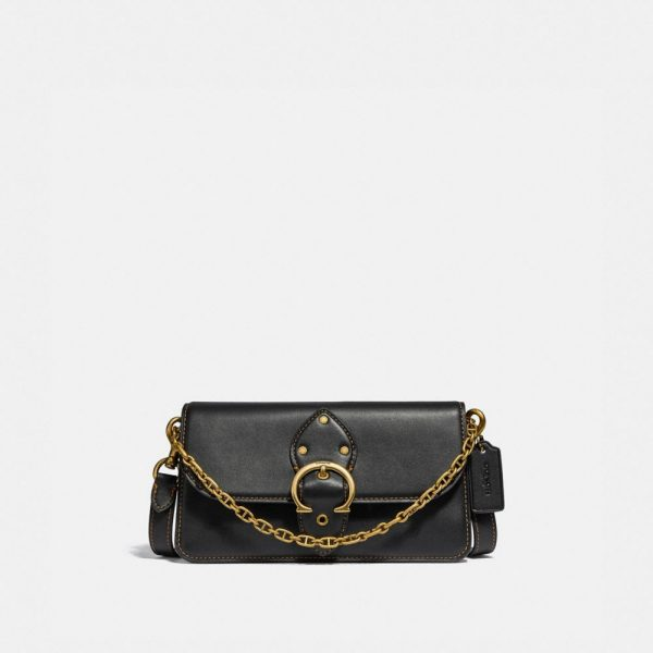 Beat Crossbody Clutch in Black