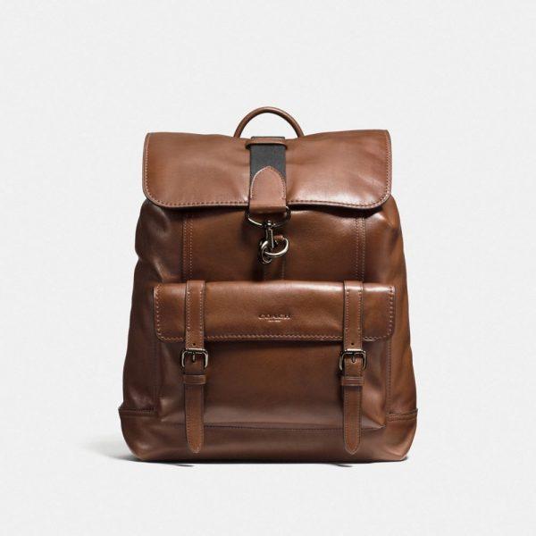 Bleecker Backpack in Brown