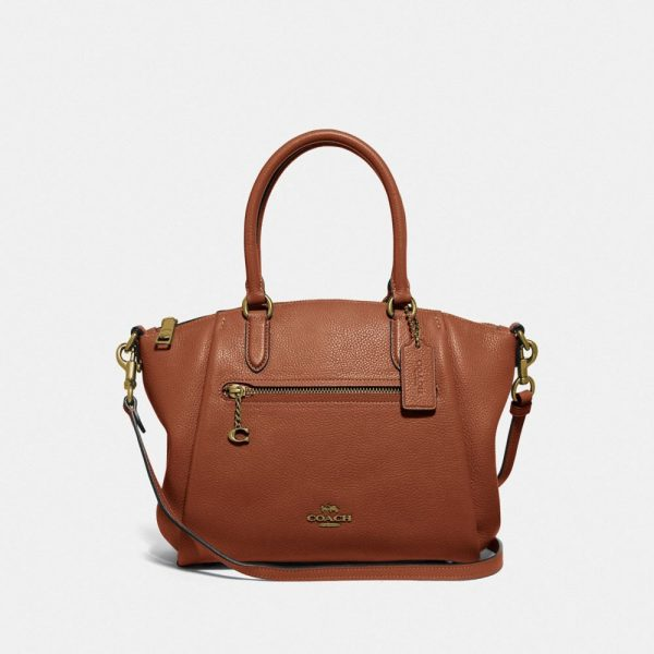 Elise Satchel in Beige