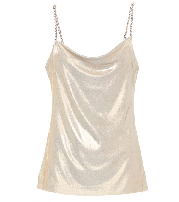 Exclusive to Mytheresa - Lamé camisole