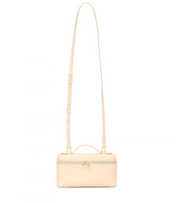 Extra Pocket leather crossbody bag