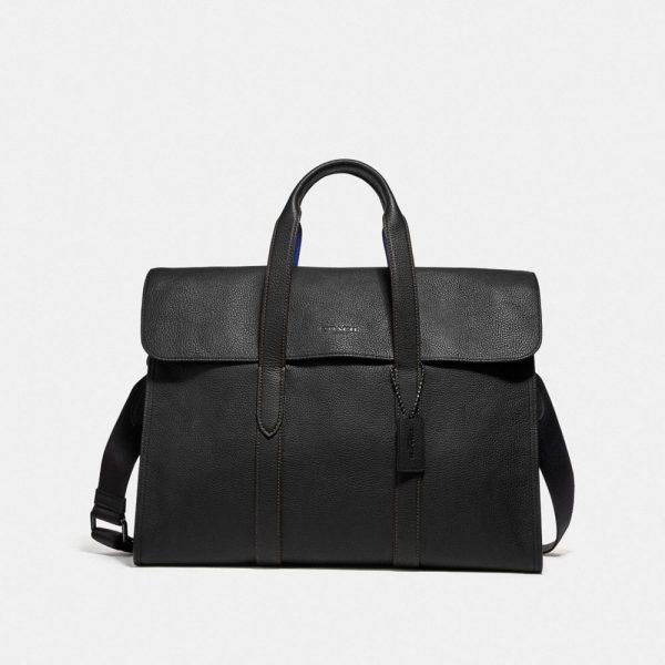 Metropolitan Portfolio In Colorblock in Black