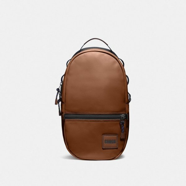 Pacer Backpack With Coach Patch in Brown