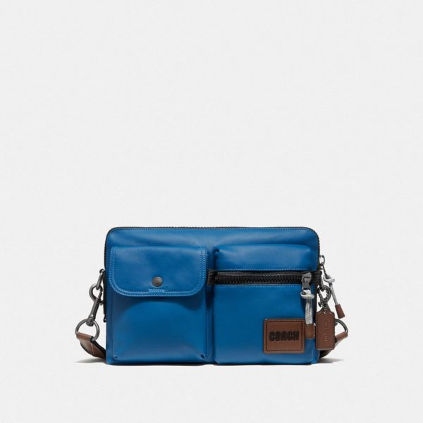 Pacer Modular Crossbody With Patch in Blue