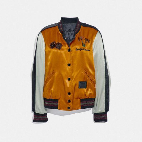 Viper Room Reversible Souvenir Jacket in Brown - Size 04