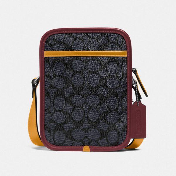 Zip Camera Bag In Signature Canvas in Multi