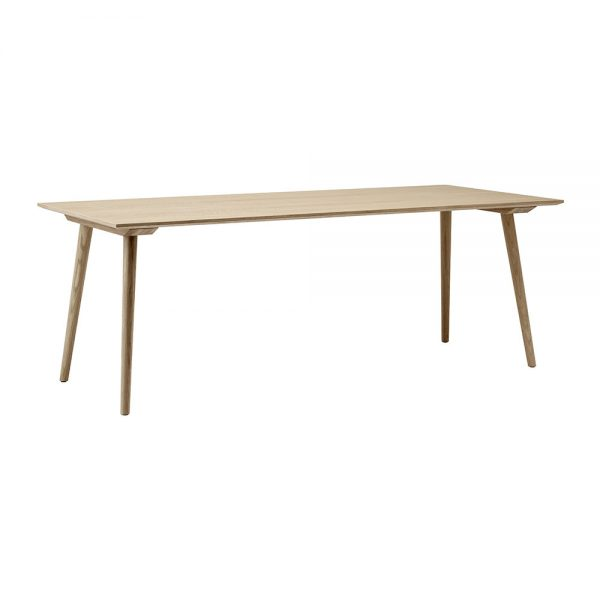 &Tradition - In Between Rectangle Dining Table - Clear Lacquered