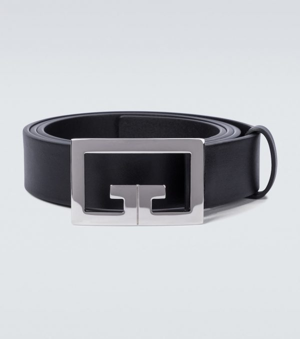 2G buckle leather belt