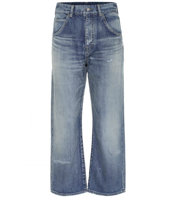 '70s high-rise straight jeans