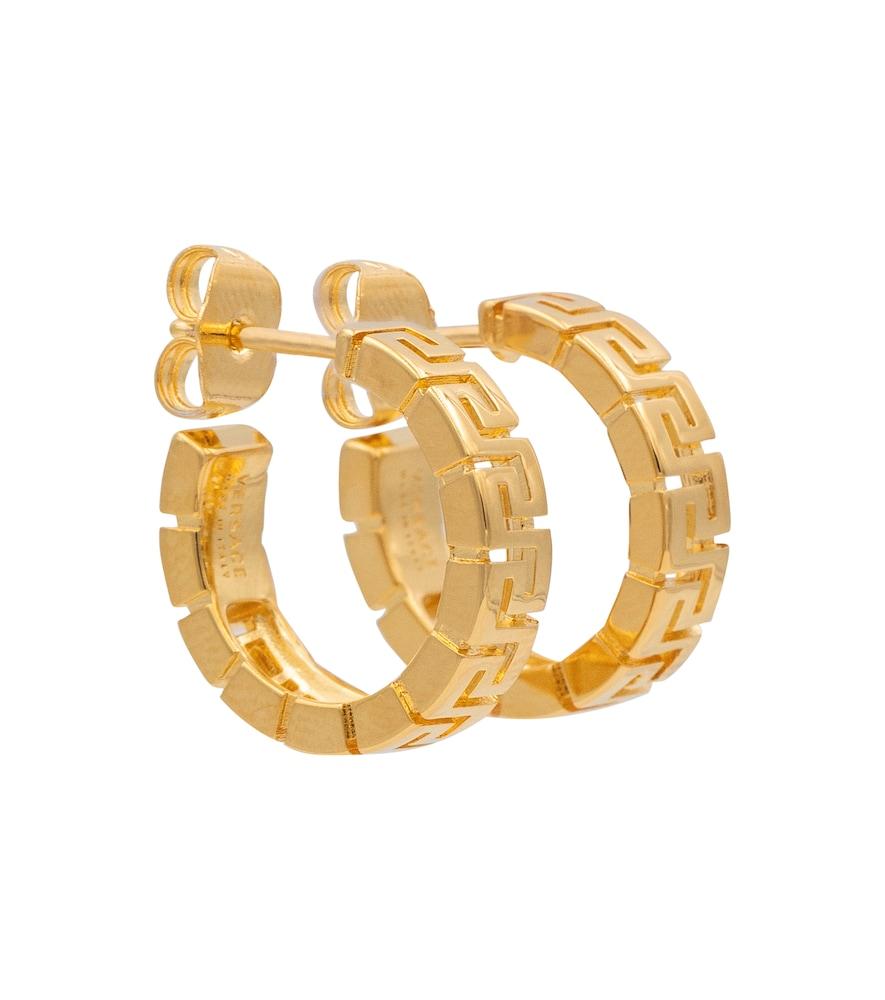 Greca hoop earrings