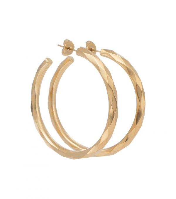 Miki hoop earrings
