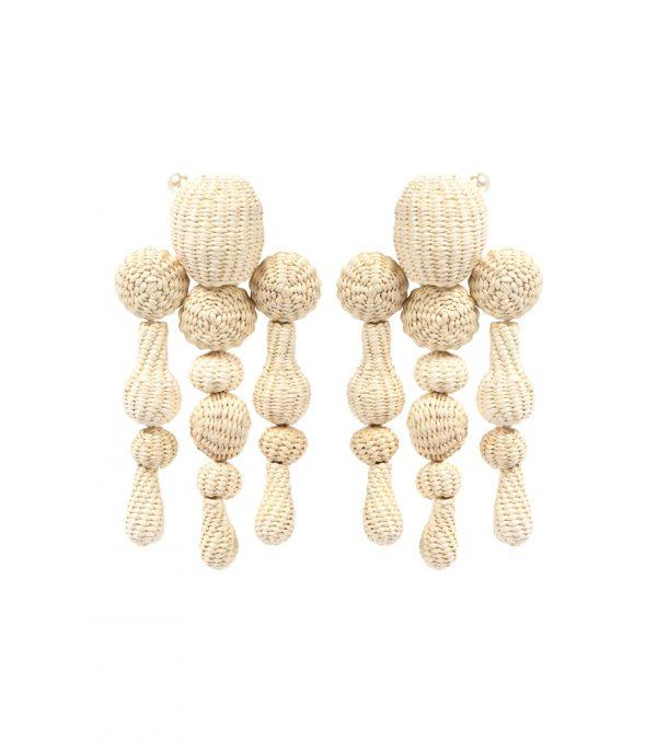 Threads of Hope clip-on earrings