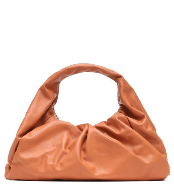 The Shoulder Pouch Medium leather tote