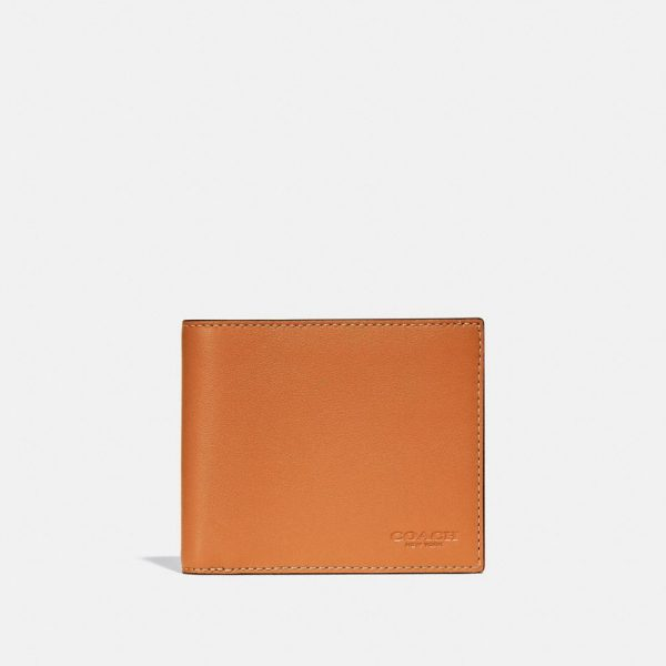 3-in-1 Wallet In Colorblock in Yellow