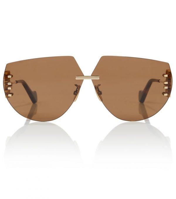 Anagram oversized sunglasses