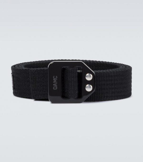 Combat fabric belt