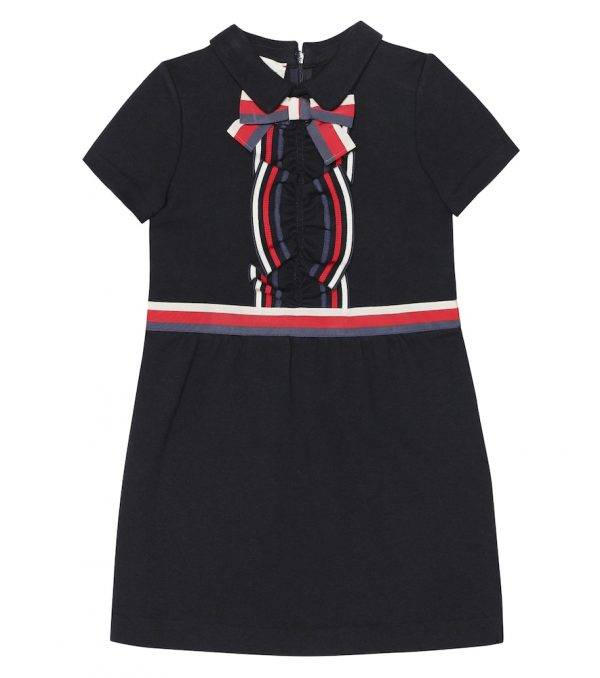 Cotton-jersey dress