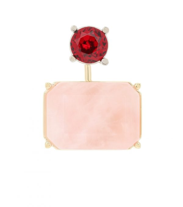 Crystal-embellished earring