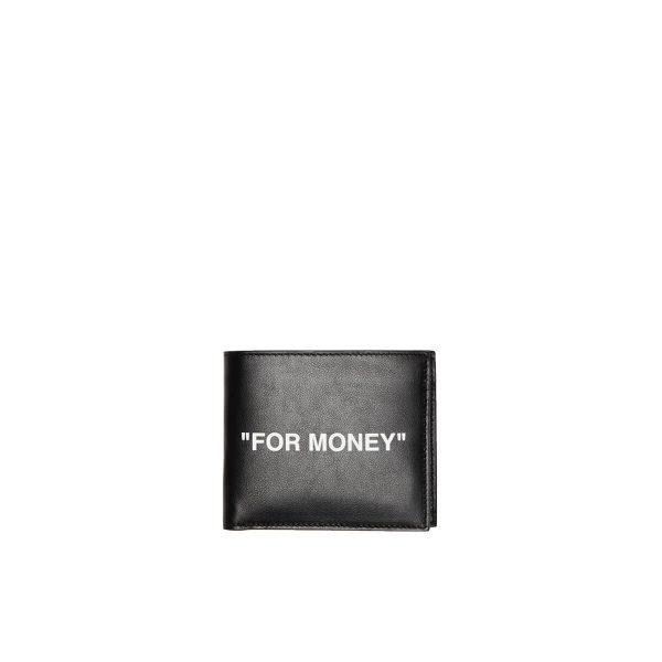 OFF-WHITE Quote bifold wallet Men Size OS EU