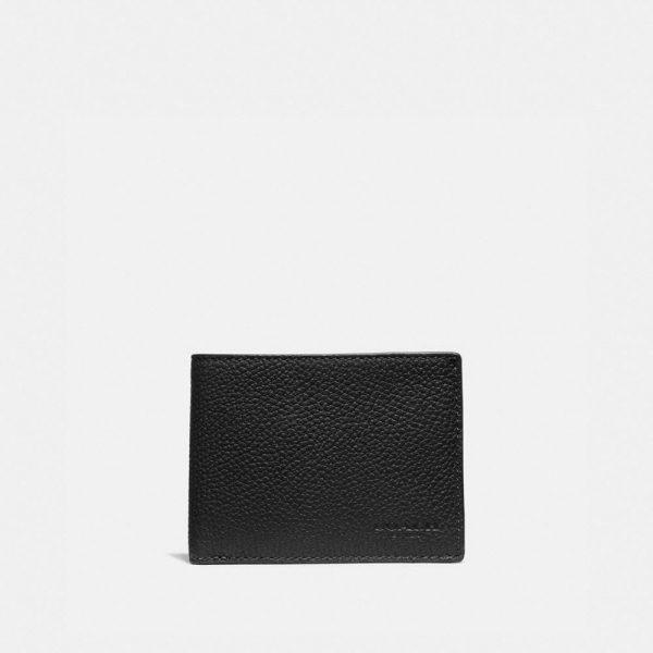 Slim Billfold Wallet In Colorblock in Multi