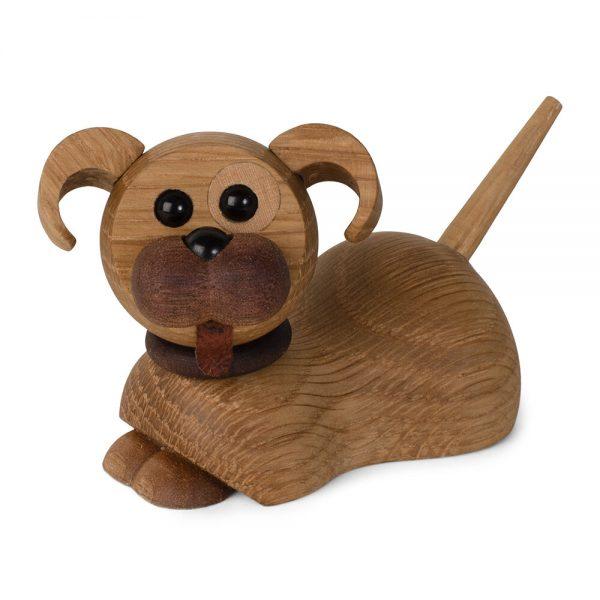 Spring Copenhagen - Coco The Dog Figurine - Oak