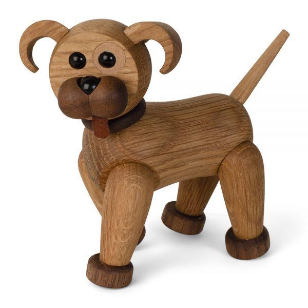 Spring Copenhagen - Woody The Dog Figurine - Oak