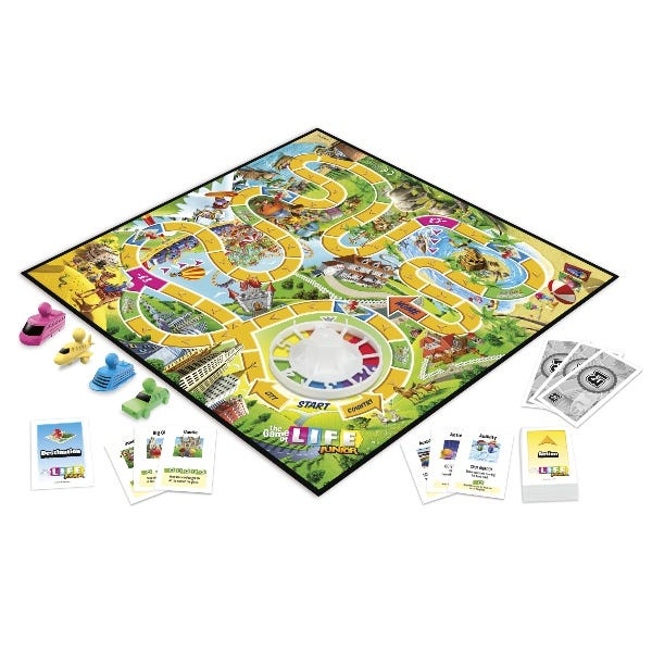 The Game of Life Junior Board Game