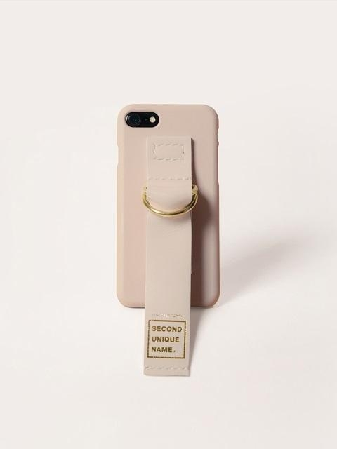[Unisex] Sun Case Leather Natural Ivory